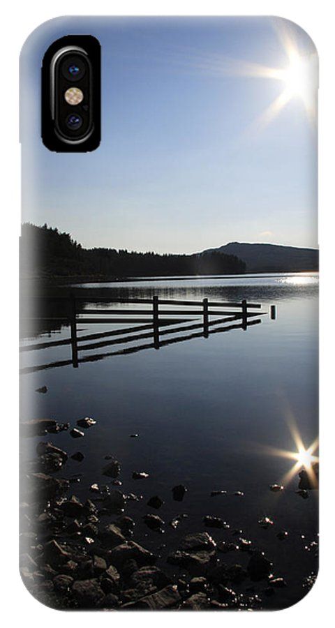 Sun IPhone X Case featuring the photograph Starburst by Phil Crean