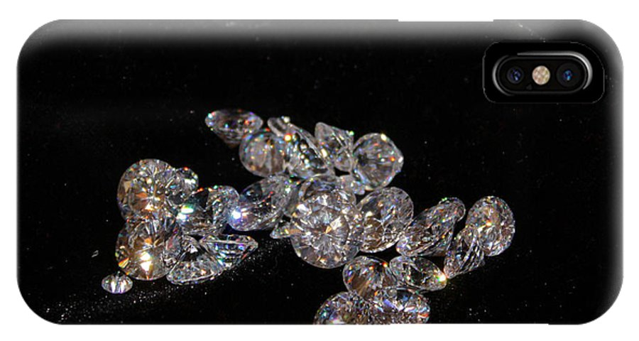 Diamonds IPhone X Case featuring the photograph Stardust by Kristin Elmquist