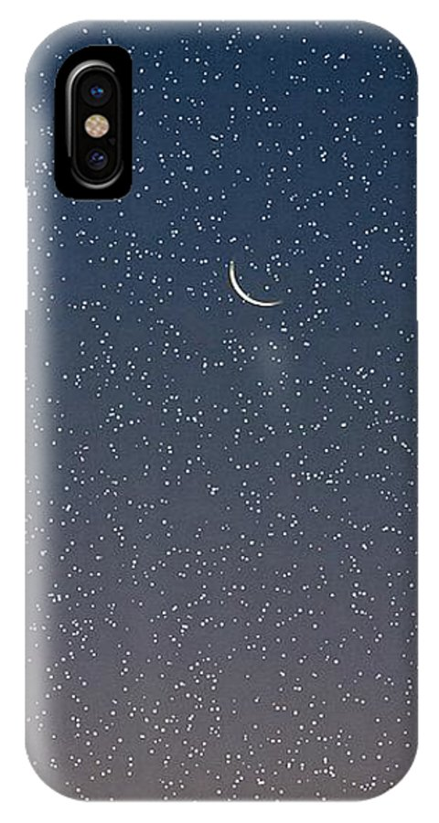 IPhone Case featuring the photograph Starry Morning Sky by Luciana Seymour