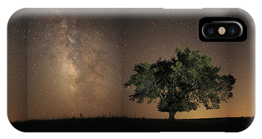 Tallgrass Prairie National Preserve IPhone X Case featuring the photograph Stars Shine Brightly by Jim Richardson