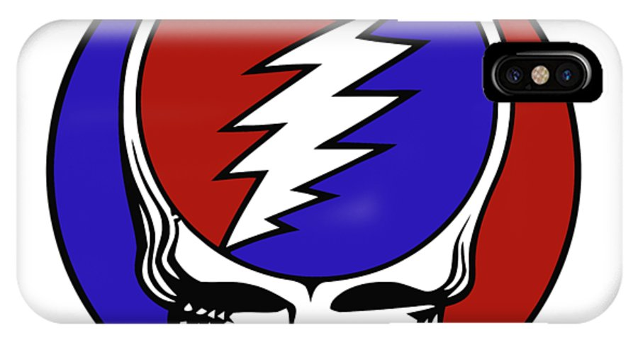 Steal Your Face IPhone X Case featuring the digital art Steal Your Face by Gd