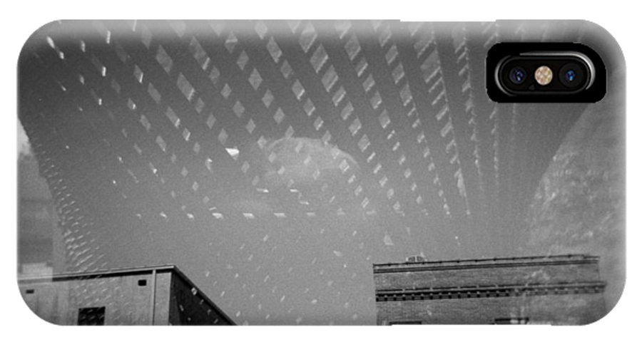 Holga IPhone X Case featuring the photograph Steel Standing by Paul Anderson