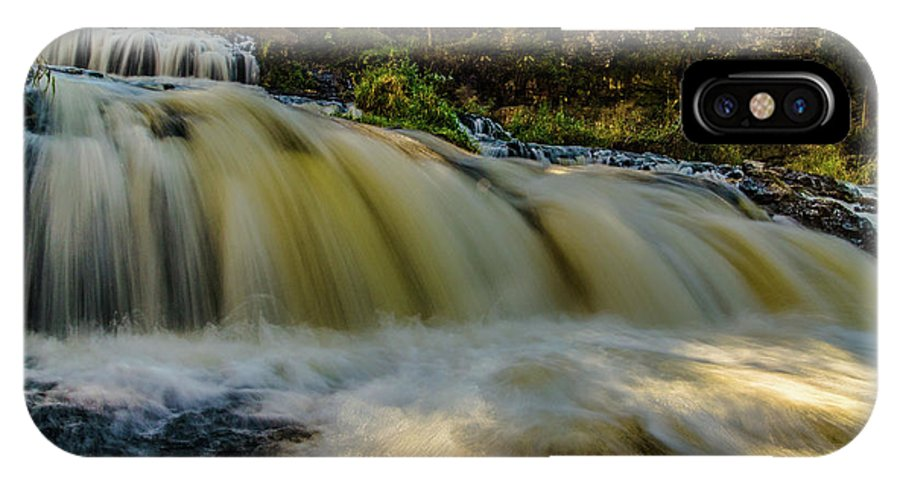 Willow River Falls IPhone X Case featuring the photograph Steps by Lowlight Images