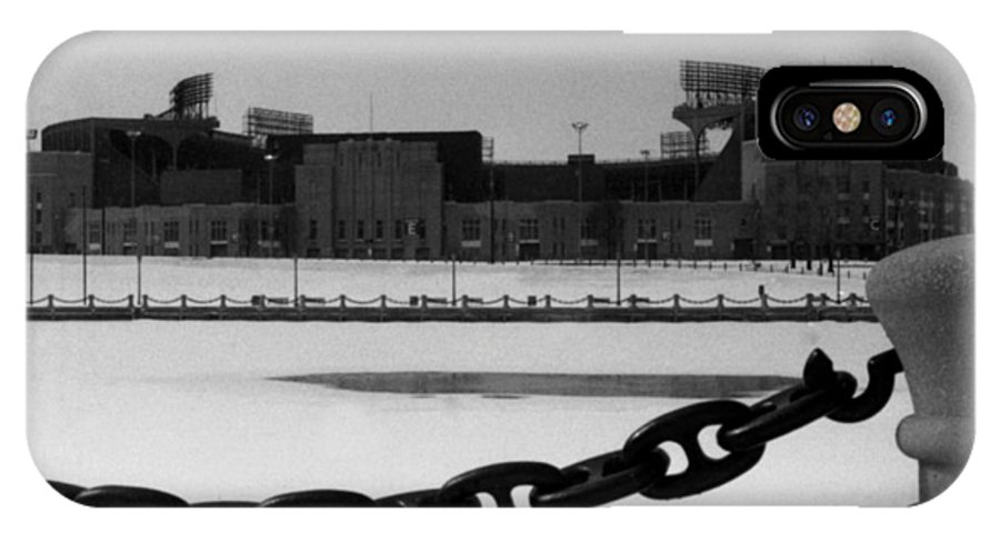 Cleveland IPhone X Case featuring the photograph Still Standing by Kenneth Krolikowski