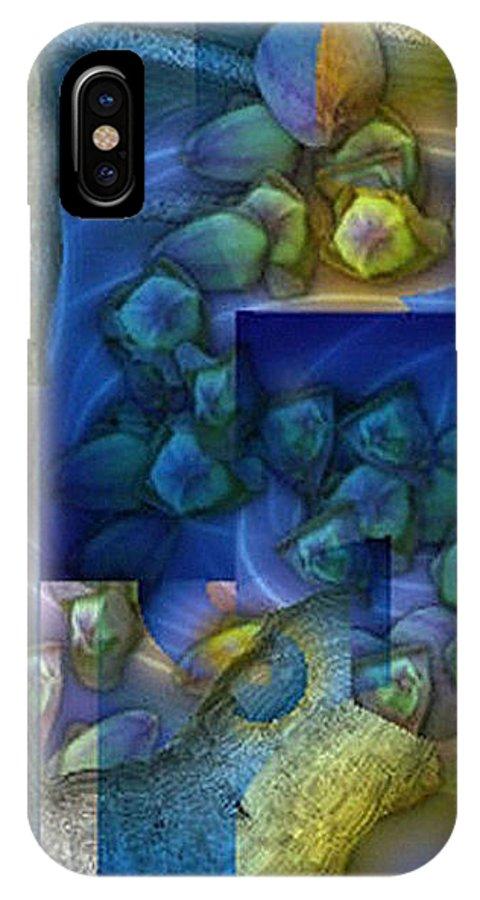 Digital IPhone Case featuring the digital art Stilleben by Ilona Burchard