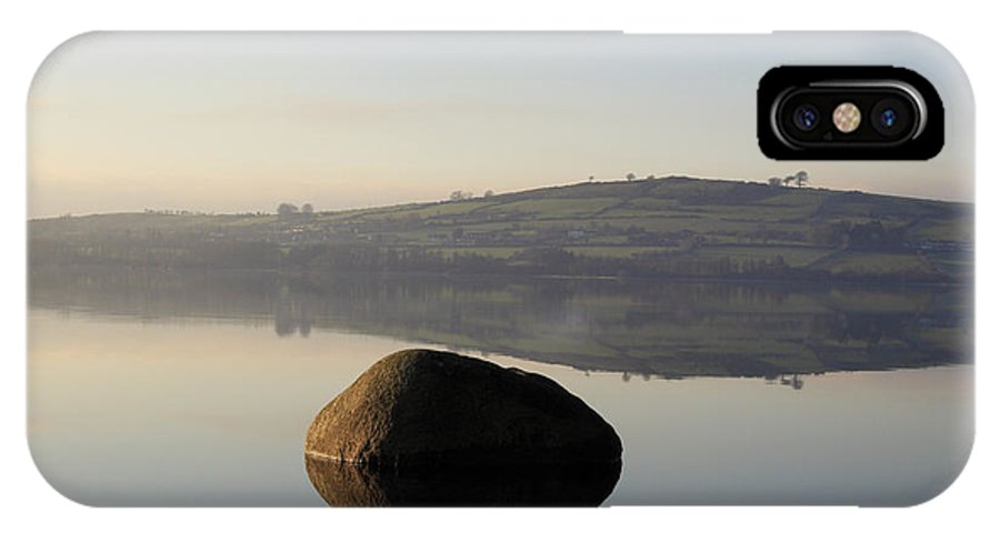Landscape IPhone X Case featuring the photograph Stone Egg by Phil Crean
