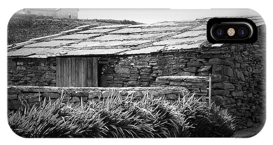 Irish IPhone Case featuring the photograph Stone Structure Doolin Ireland by Teresa Mucha