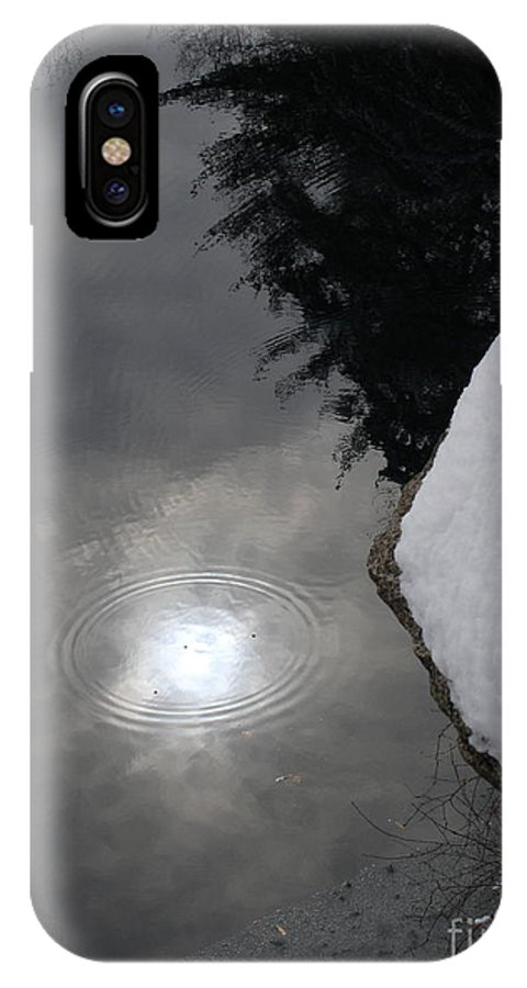 Landsscape IPhone X Case featuring the photograph Storms End by Chad Natti