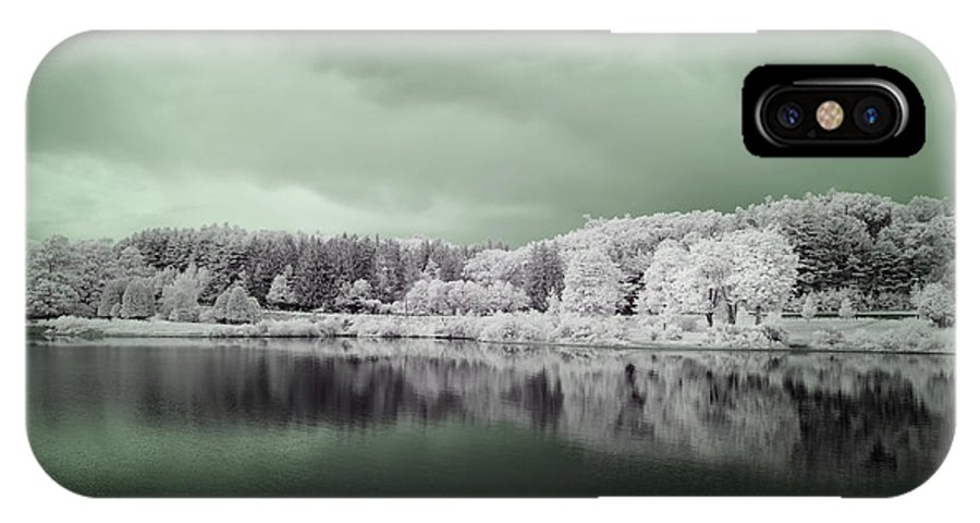 Wachusett Reservoir IPhone X Case featuring the photograph Stormy Friday by Luke Moore