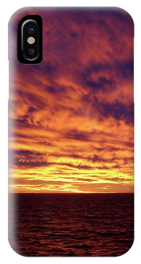Straits Of Magellan IPhone X Case featuring the photograph straits of magellan III by Brett Winn