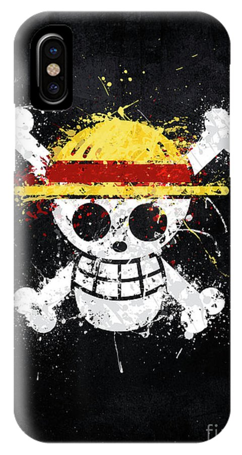 One Piece Zoro Jolly Roger iphone case