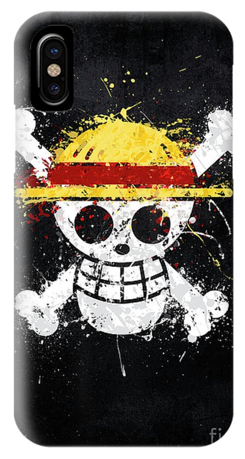Straw Hat Pirates Jolly Roger IPhone X Case