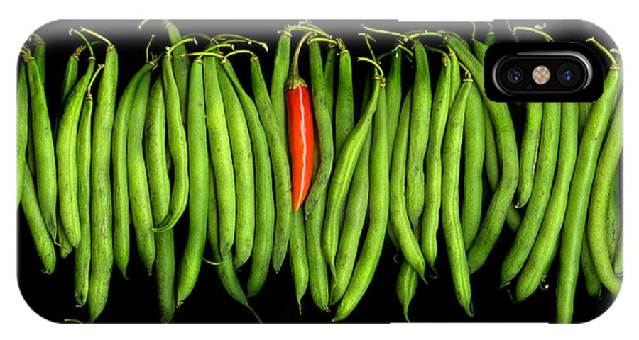 Culinary IPhone Case featuring the photograph Stringbeans And Chilli by Christian Slanec