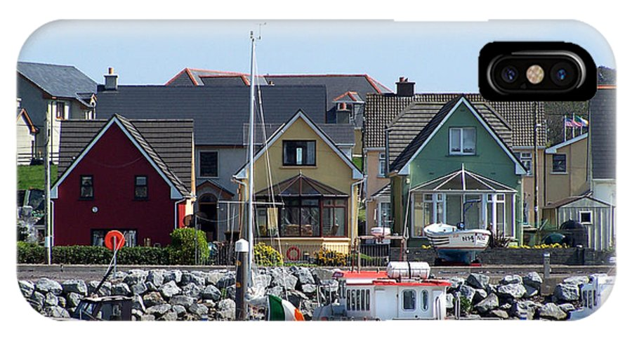 Irish IPhone Case featuring the photograph Summer Cottages Dingle Ireland by Teresa Mucha