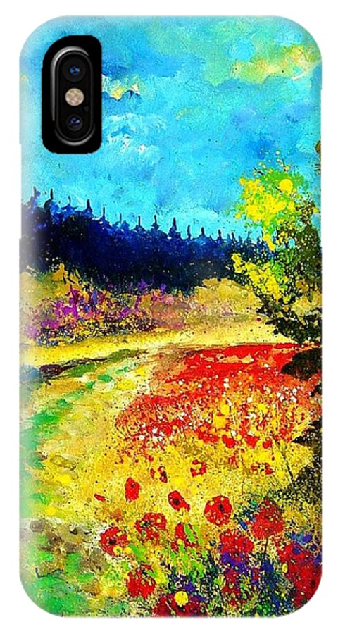 Flowers IPhone Case featuring the painting Summer by Pol Ledent