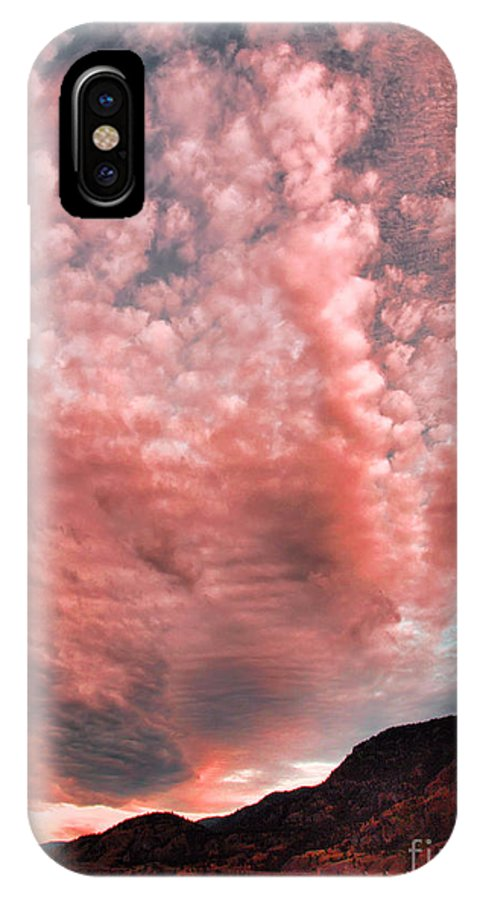 Sky IPhone X Case featuring the photograph Summer Skies by Tara Turner