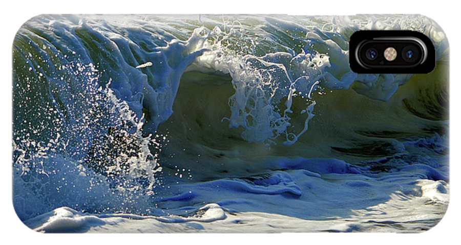 Ocean IPhone X Case featuring the photograph Summer Splash by Dianne Cowen