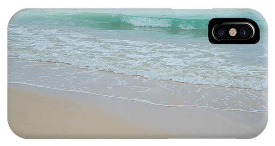 Tide IPhone X Case featuring the photograph Summer Tide by G Ward Fahey