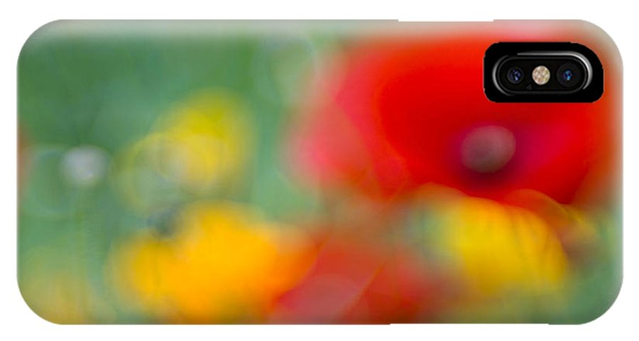 Flowers IPhone X Case featuring the photograph Summerfeeling by Silke Magino