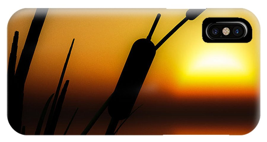 Tranquil IPhone X Case featuring the photograph Summertime Whispers by Bob Orsillo