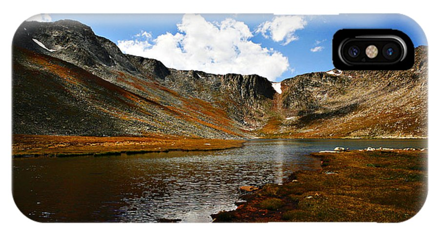 Travel IPhone X Case featuring the photograph Summit Lake Colorado by Marilyn Hunt