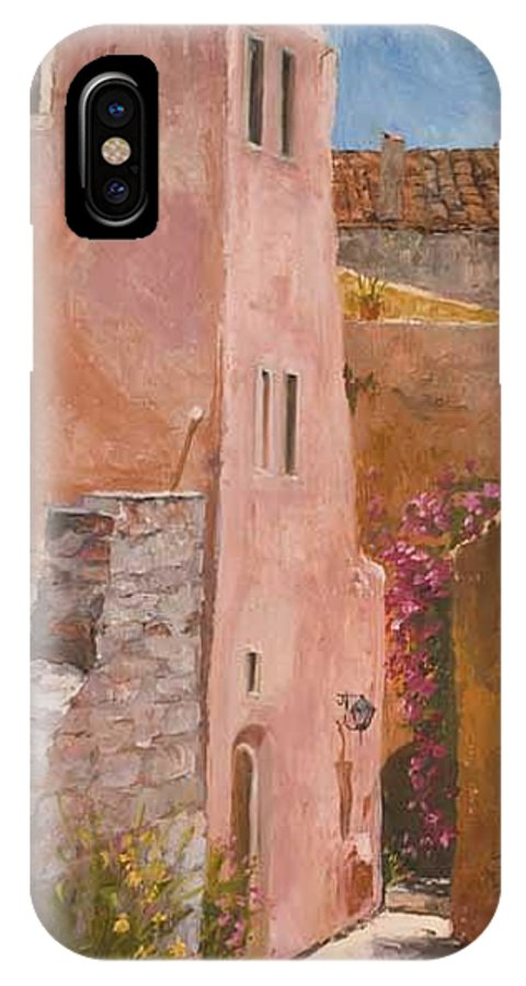 Urban IPhone X / XS Case featuring the painting Sun Drenched by Kit Hevron Mahoney