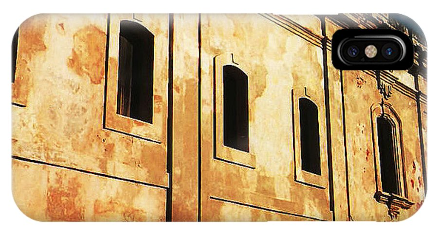 Buildings IPhone X Case featuring the photograph Sun Kissed by Jeff Barrett