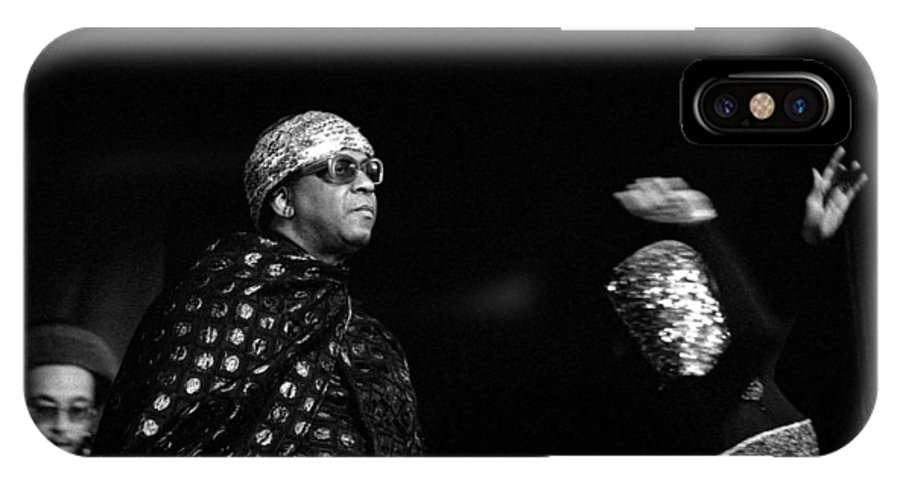 Jazz IPhone X Case featuring the photograph Sun Ra by Lee Santa