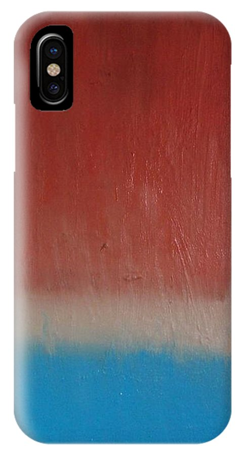 Painting IPhone X Case featuring the painting Sun Rise - Sold by Elizabeth Klecker