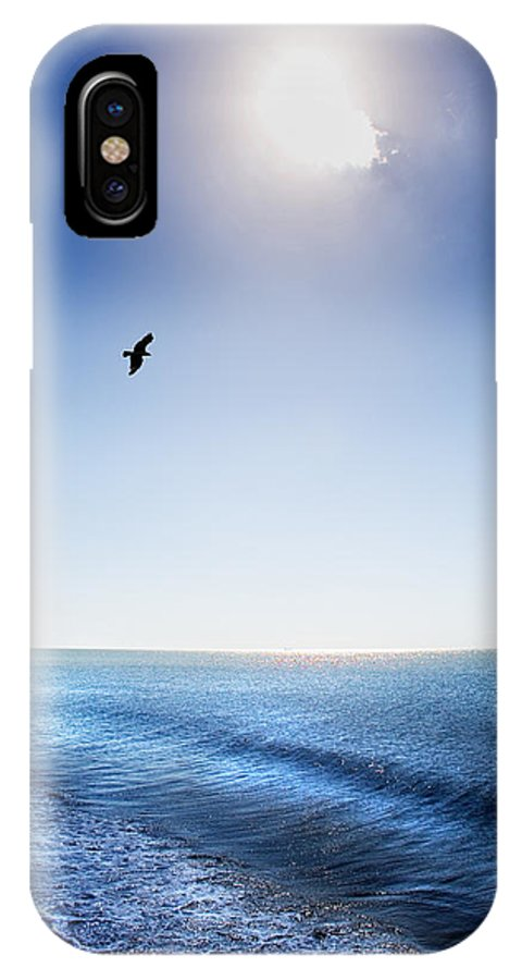 Sun IPhone X Case featuring the photograph Sun Shade by Mal Bray