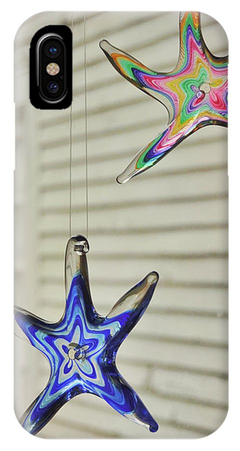 Star IPhone X Case featuring the photograph Suncatchers by JAMART Photography