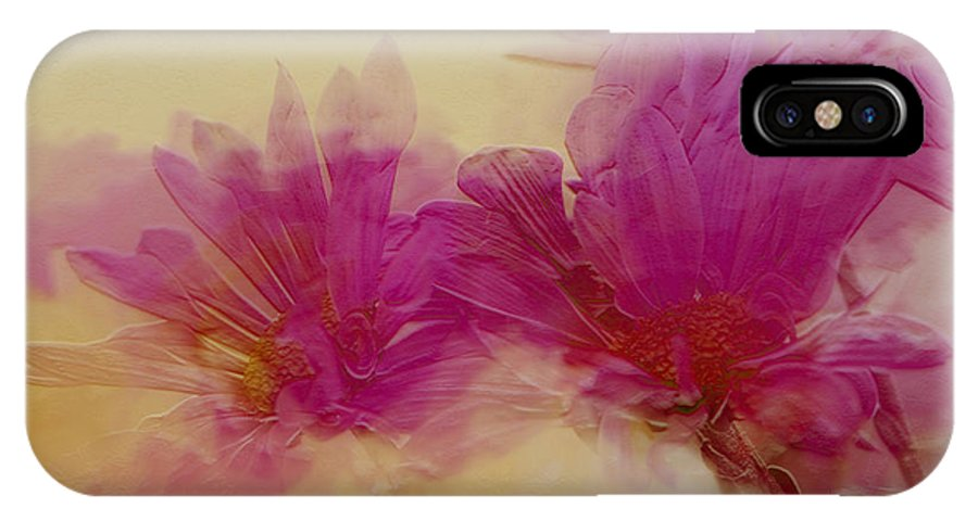 Flowers IPhone X Case featuring the photograph Sundance by Linda Sannuti