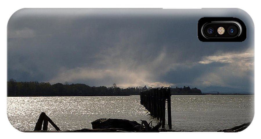 Fraser River IPhone X Case featuring the photograph Sunday March 27 2016 by Darrell MacIver