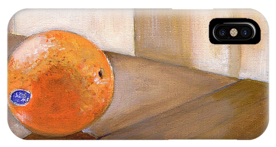 Food IPhone Case featuring the painting Sunkist by Sarah Lynch