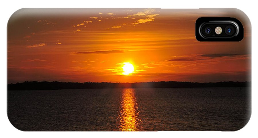 Sunlight IPhone X Case featuring the photograph Sunlight Path by Marilee Noland