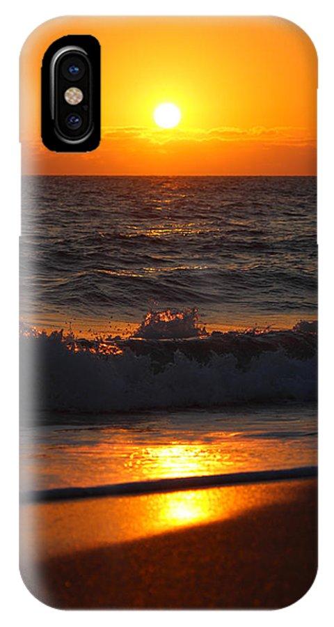 Sunrise IPhone X Case featuring the photograph Sunrise by Alicia Doyle