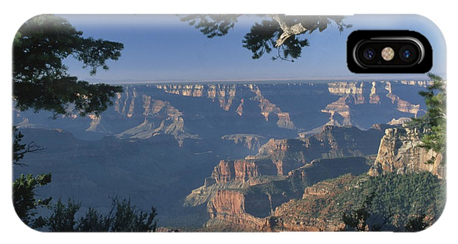 Grand Canyon IPhone X Case featuring the photograph Sunrise At The North Rim by Sandra Bronstein