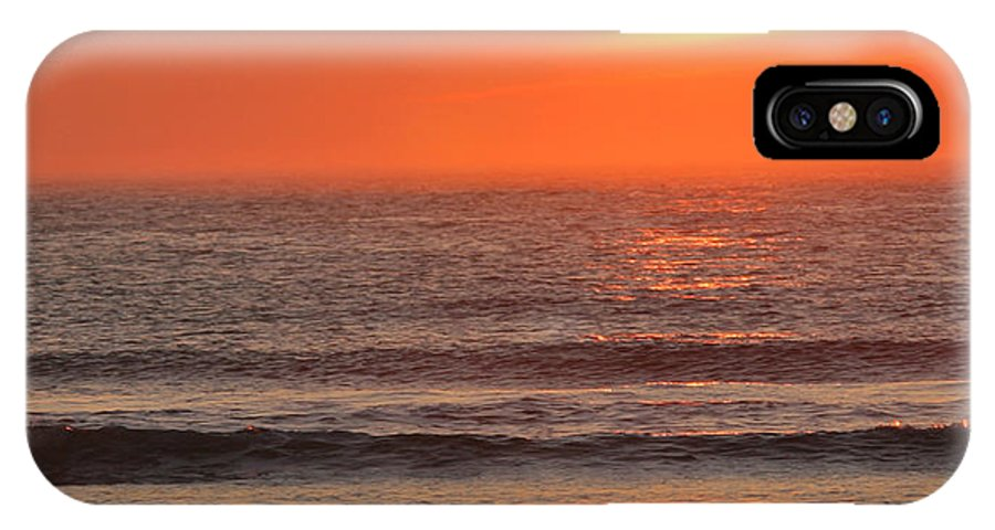 Ocean IPhone Case featuring the photograph Sunrise On The Oceanside by Max Allen