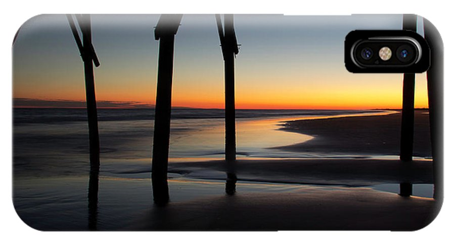 North Carolina IPhone X / XS Case featuring the photograph Sunset Afterglow by Gary W Baird
