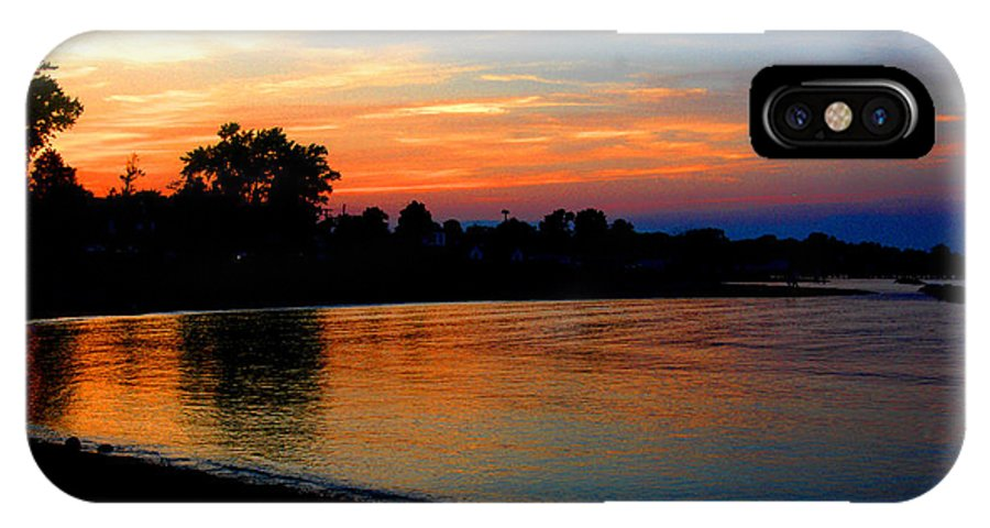 Clay IPhone Case featuring the photograph Sunset At Colonial Beach Cove by Clayton Bruster
