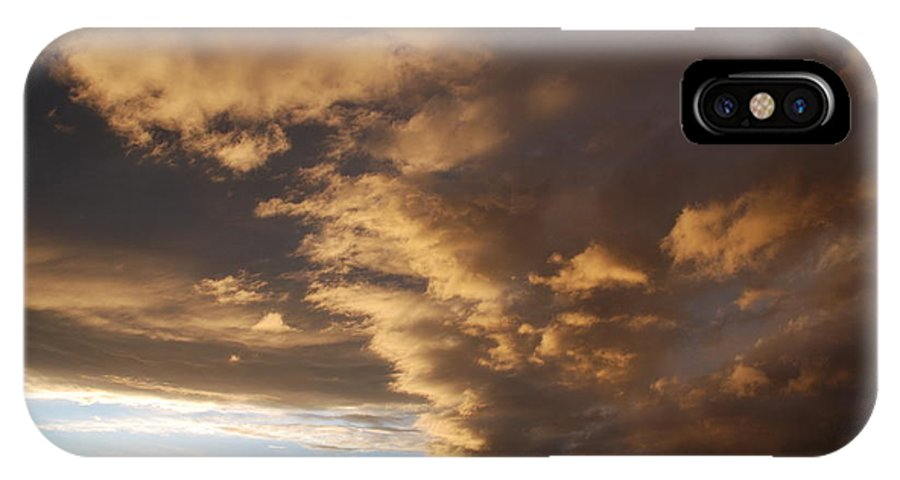 Sunset IPhone Case featuring the photograph Sunset At The New Mexico State Capital by Rob Hans