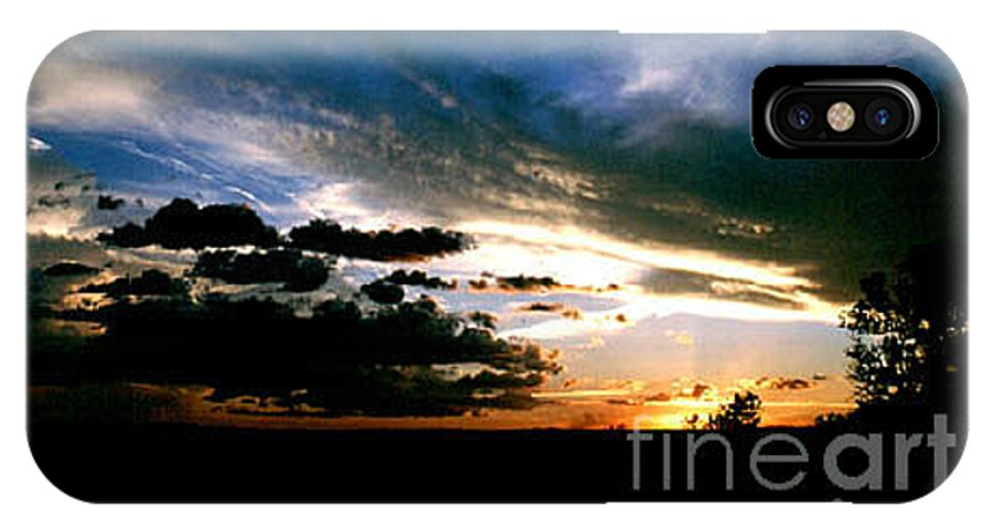 Sunset IPhone Case featuring the photograph Sunset At The North Rim by Kathy McClure