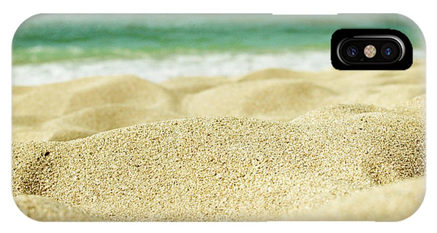 Sunset Beach IPhone X Case featuring the photograph Sunset Beach by Sharon Mau