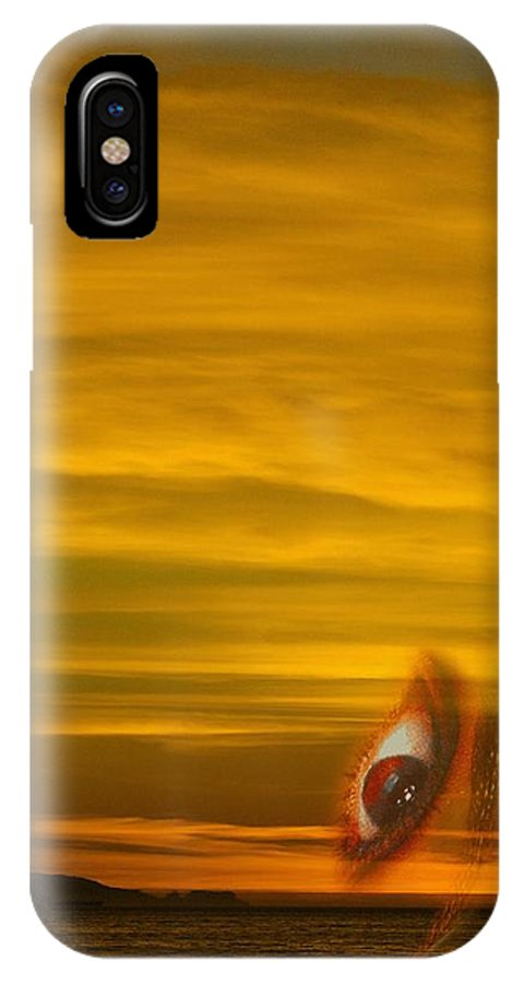 Sunset IPhone Case featuring the photograph Sunset In Your Eye by Viktor Savchenko