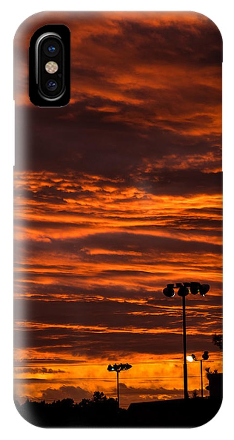 Gush Etzion IPhone X / XS Case featuring the photograph Sunset Over The Judean Hills by Rebecca Nathan Kowalsky