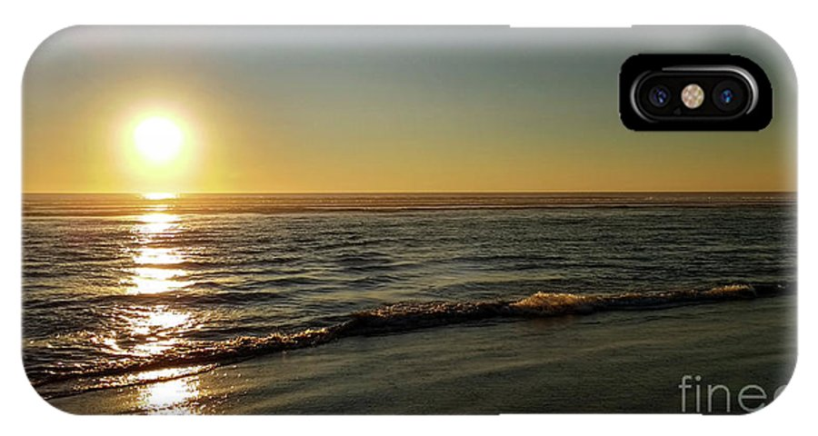 Denise Bruchman IPhone X Case featuring the photograph Sunset Serenity by Denise Bruchman