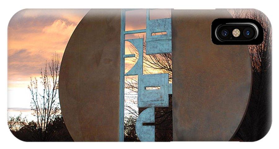 Pop Art IPhone Case featuring the photograph Sunset Thru Art by Rob Hans