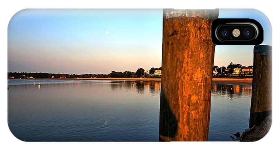 Cape Cod IPhone X Case featuring the photograph Sunshine On Onset Bay by Bruce Gannon