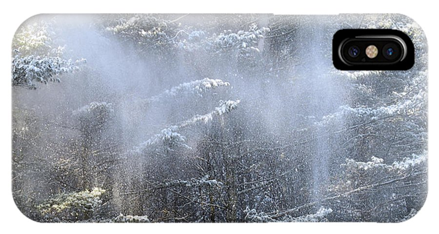 Winter IPhone Case featuring the photograph Sunshower by Tom Heeter