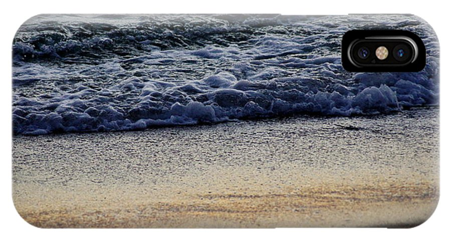 Surf IPhone X Case featuring the photograph Surf And Sand by Paul Wilford